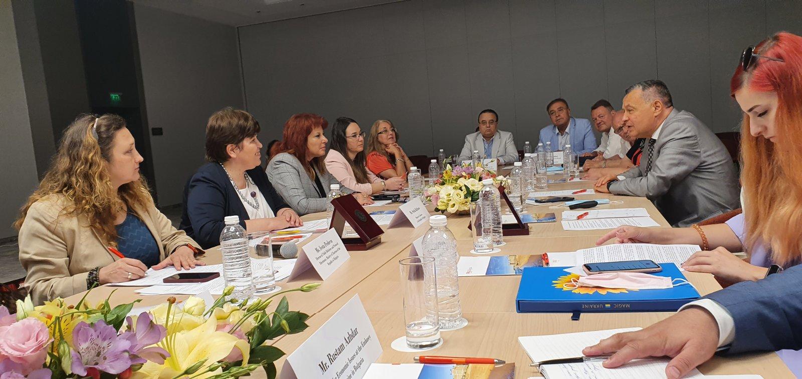 БХРА предлага нови възможности за директни бизнес контакти с Украйна